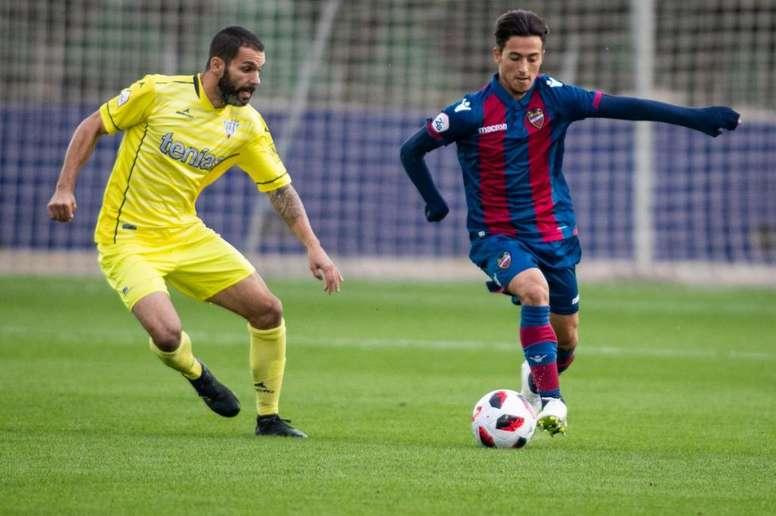 El Atlético Levante se enfrenta al Ebro. LUDAtletico