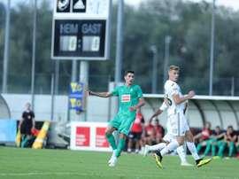 El de Lleida ha participado en dos partidos de Liga esta campaña. SDEibar
