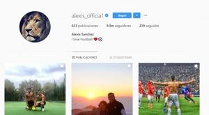 Alexis Sanchez deixou de ser do Manchester United... no Instagram. Alexis_officia1