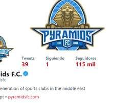 Su perfil de Twitter es una clara declaración de intenciones. Twitter/pyramidsfc