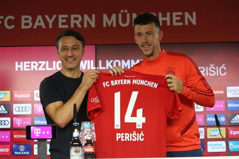 Perisic portera le numéro 14. FCBayern