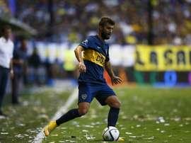 Gino Peruzzi no tuvo un paso amable por Boca. BocaJuniors