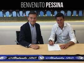 Pessina firma su contrato con el Atalanta. AtalantaBC