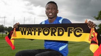 Etebo llega cedido al Watford. WatfordFC