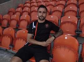 Peter Hartley es el nuevo fichaje del Balckpool. BlackpoolFC