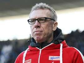 Peter Stoger's Koln lost their first two Bundesliga games. FCKoln
