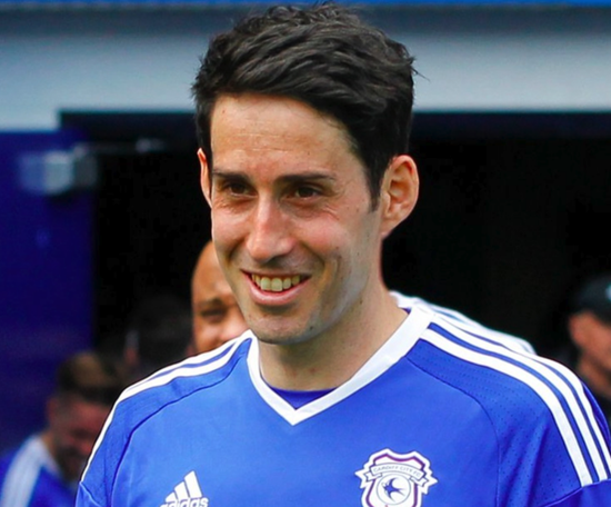 Whittingham ha perdido la vida. Twitter/CardiffCityFC