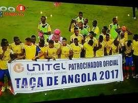O Petro de Luanda bateu o 1º de Agosto por 2-1. Twitter