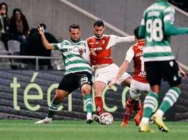 Sporting anuncia uma redução salarial de 40%. Twitter/SCBragaOficial