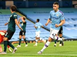 City vence o Burnley por goleada. ManchesterCity