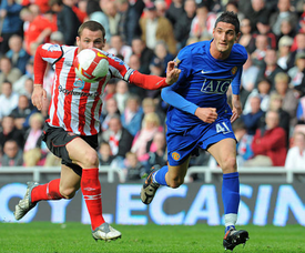 Macheda looked to be a starlet for Manchester United in 2009. AFP