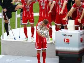 Le capitaine du Bayern prend sa retraite. FCBayern