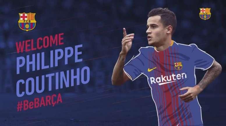 Nuevo fichaje en Can Barça. Twitter/FCBarcelona_es