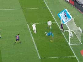 Philippe Coutinho opened the scoring for Barcelona. Captura/BeInSports