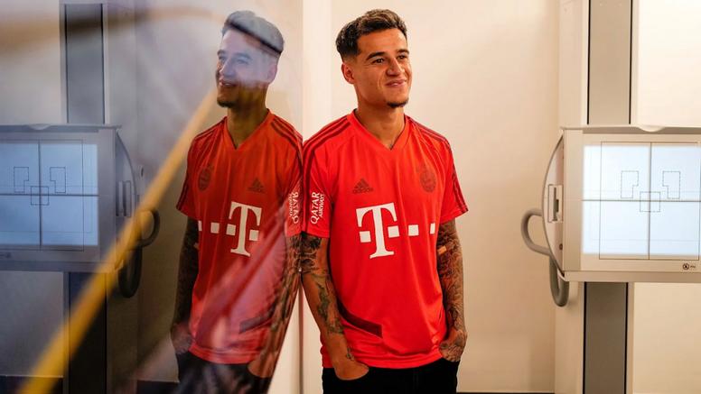 Chovem críticas a Coutinho na Alemanha. FCBayern