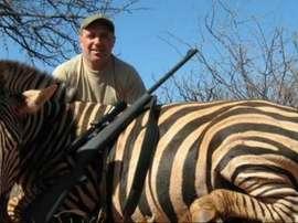 Photos have been leaked of Hristo Stoichkov posing with dead animals on Safari. Twitter