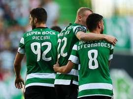Três reforços do Sporting CP para esta temporada. Twitter/MaisFutebol