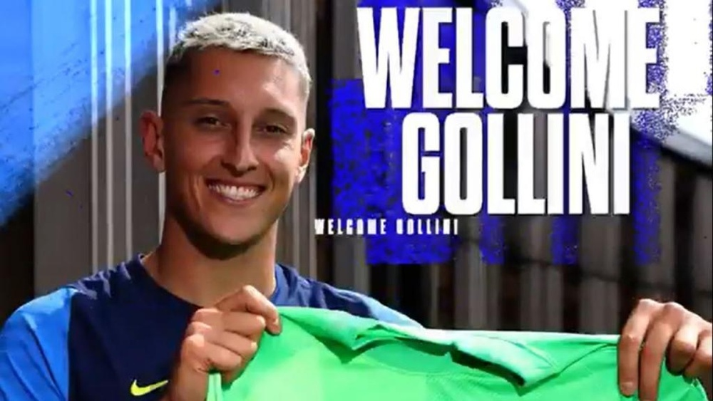 Gollini joins on a loan deal with an option to buy. Captura/TottenhamHotspur
