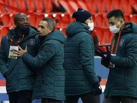PSG v Istanbul Basaksehir went down in history. EFE