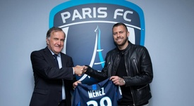 Ménez vuelve a Francia. EFE