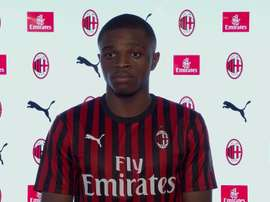 The Frenchman turned down a professional contract at Lyon. Captura/ACMilan