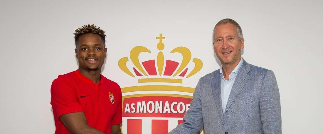 Pierre Nguinda jouera en Belgique la saison prochaine. ASMónaco
