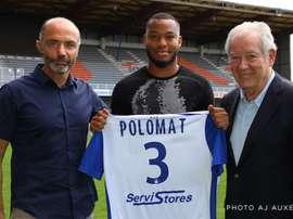 El conjunto francés da la bienvenida a Polomat, procedente del Saint-Etienne. AJAuxerre/MG
