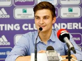 Le milieu de terrain a signer jusqu'en 2021. Anderlecht