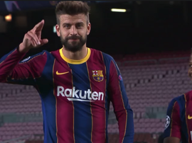 Piqué veut vite revenir. Captura/Movistar+LigadeCampeones
