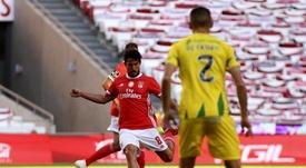 Benfica acumulou finalizações, mas não saiu do 0 a 0. EFE