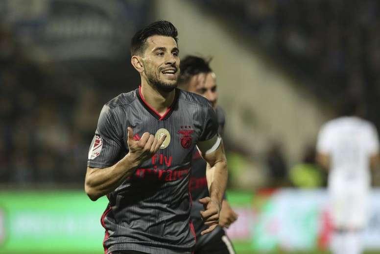 El Benfica acabó con la ilusión del Famalicao. SLBenfica