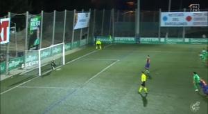 Pjanic manque son penalty et l'occasion d'ouvrir le score. Captura/DAZN