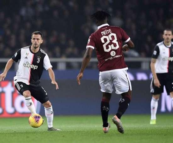Meite dans le viseur du Milan. Twitter/JuventusFC