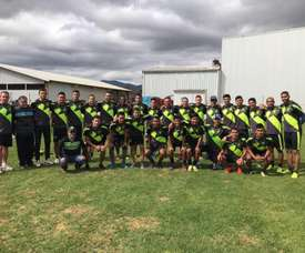 Así fue la jornada en el campeonato en el Clausura de Guatemala. Twitter/AntiguaOficial