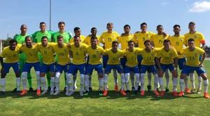 Brasil é campeão do Torneio de Toulon pela nona vez. Twitter/CBF