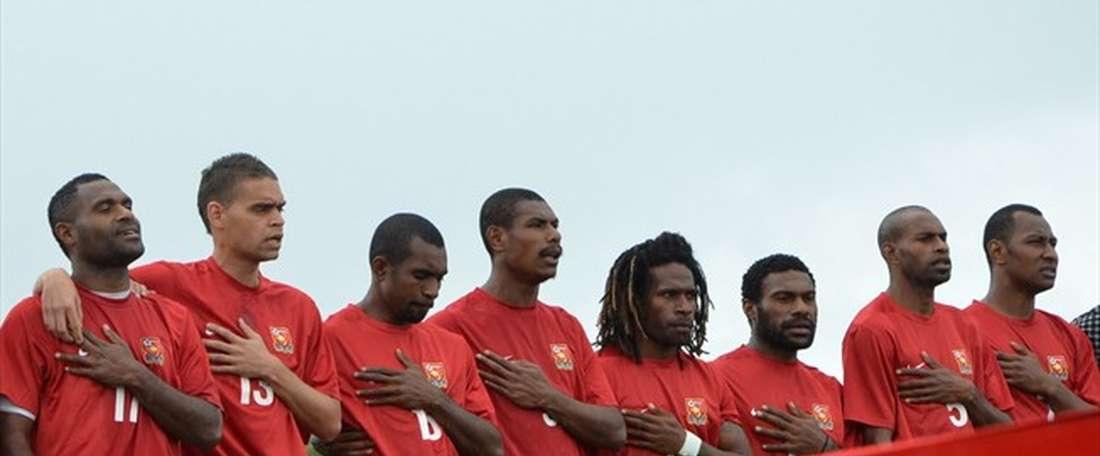 Foster y Dabinyaba fueron los goleadores de Papua. FIFA