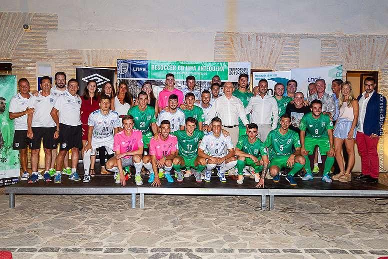 : Plantilla del BeSoccer CD UMA Antequera para la temporada 19-20. BeSoccerCDUMAANtequera