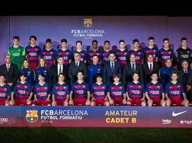 Los jugadores del cadete B del FC Barcelona han quedado subcampeones en Alemania. FCBarcelona