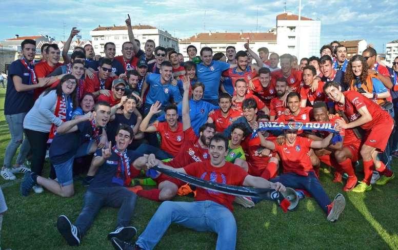 El Calahorra es nuevo equipo de Segunda B. Calahorra