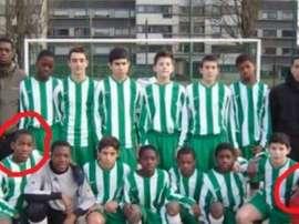 Para los chicos del Bondy, Mbappé fue siempre uno más a pesar de su edad. LeParisien