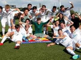 El Juvenil B del Madrid empató ante el Alcorcón. RealMadrid