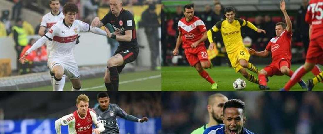 Players to look out for next season. AFP