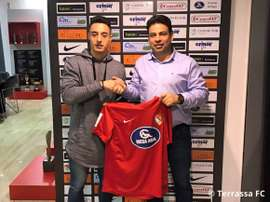 Pol Ballesteros, nuevo jugador del Terrassa. TerrassaFC