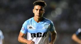 Pol Fernández podría regresar a Argentina. Twitter/RacingClub