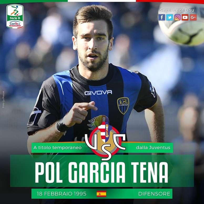 El zaguero español jugará la próxima temporada en la Serie B. LegaB