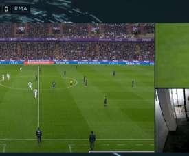 Une image qui a porté à confusion. Captura/LaLigaTV