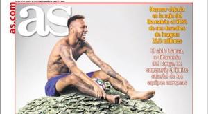 Capa do jornal espanhol AS de 22/08/2019. AS
