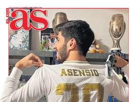 Les Unes des journaux d'Espagne. AS