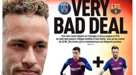 Neymar sigue ocupando portadas. EFE