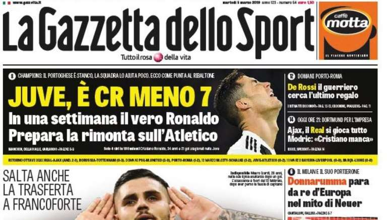 nuovo di zecca adf11 be5e6 Italy turns on Ronaldo: 'He's gone off radar...' - BeSoccer